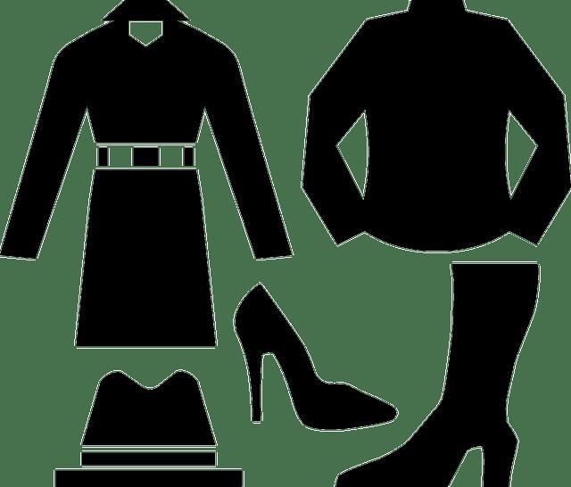 ropa negra