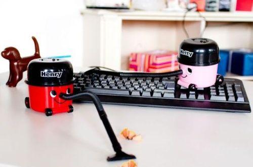 regalo original aspirador escritorio