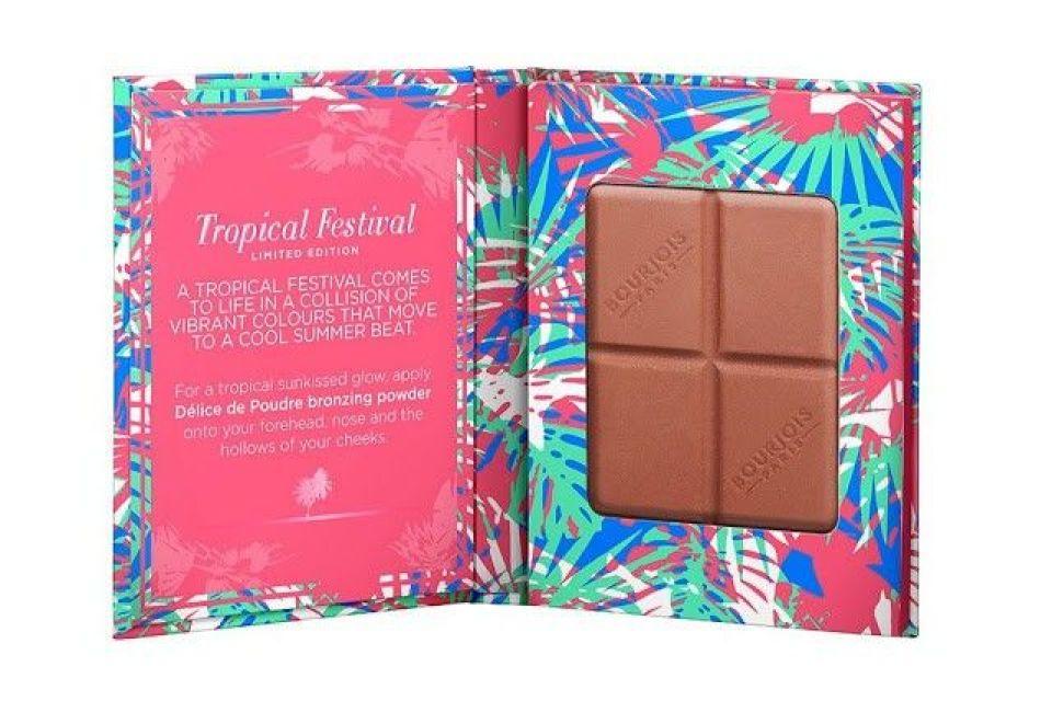 Polvos bronceadores de Bourjois chocolate