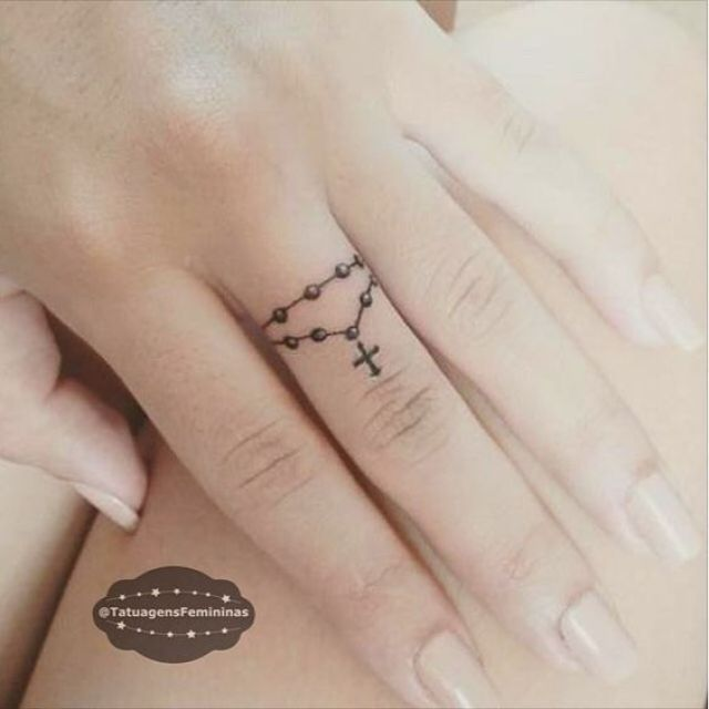 Tatuajes pequeños para dedos