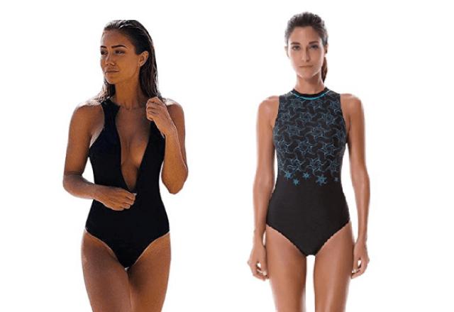 bañador negro Amazon verano 2018
