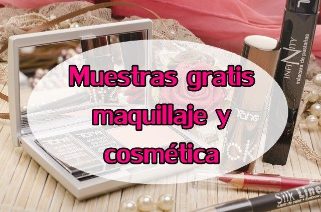 muestras gratis de cremas y maquillaje