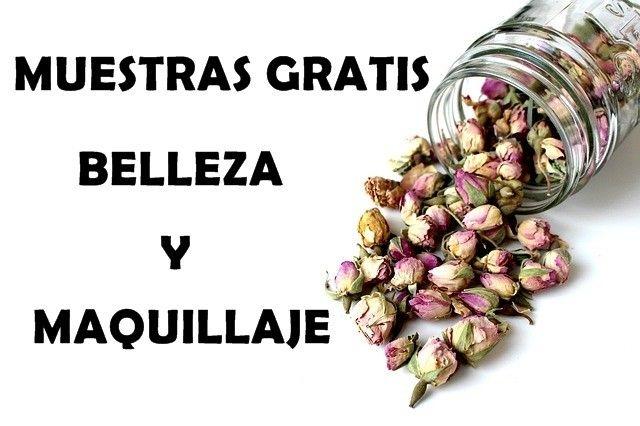 MUESTRAS GRATIS MAQUILLAJE BELLEZA