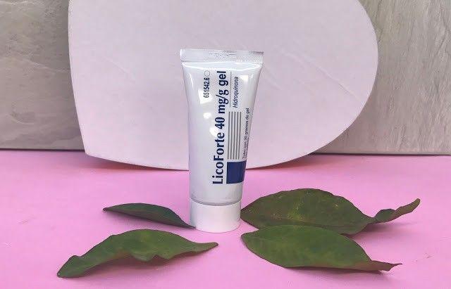Opinión LicoForte gel 40 mg para eliminar manchas del rostro ¡La que mejor funciona!