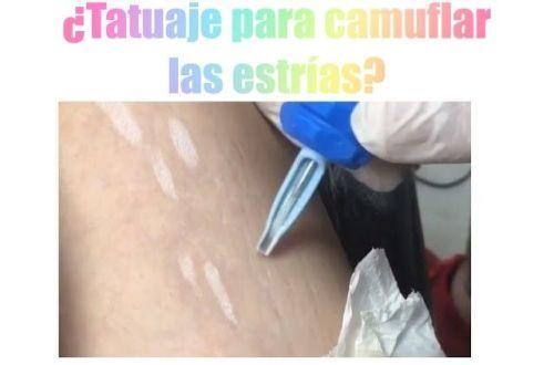tatuaje para tapar las estrías