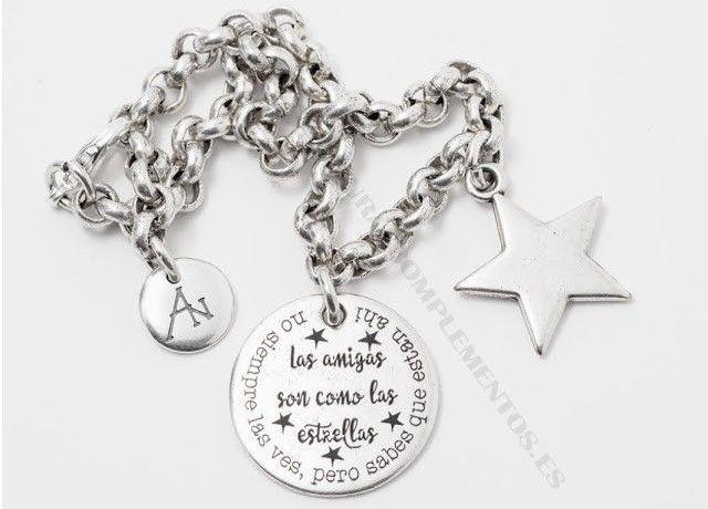 pulsera para amigas estrellas