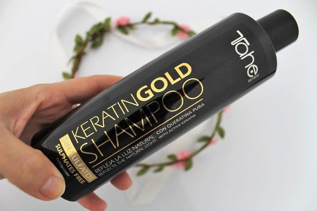 champú Keratin Power Gold de Tahe