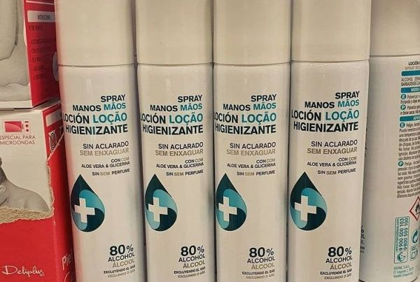 spray higienizante de Mercadona