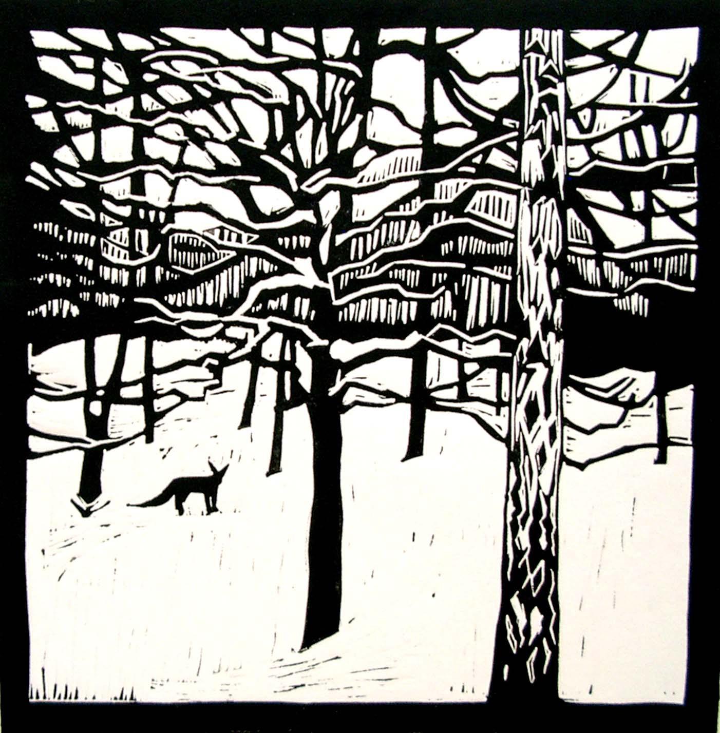 Truro Arts Company Lee Stevenson Lino Print