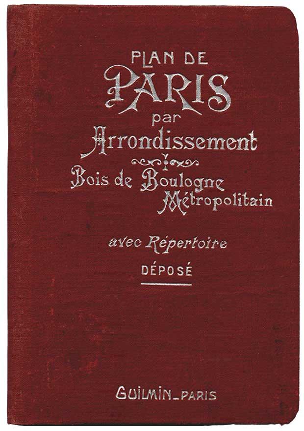 Guilmin Leconte Plans De Paris Par Arrondissement