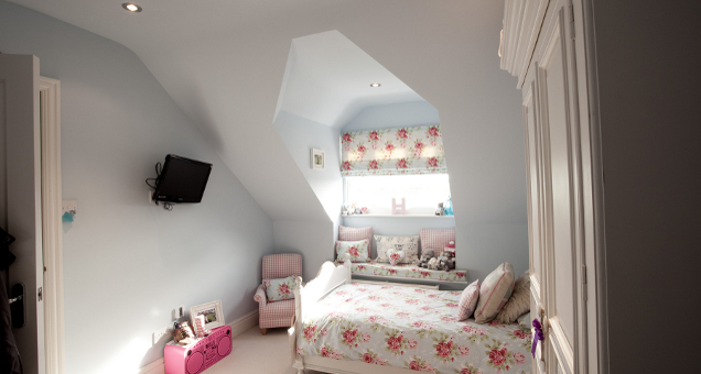 Childrens Bedroom Loft Conversion In Surrey 3