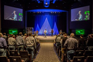 The scene at the Lead Conference on Saturday photo by Ron Burkett