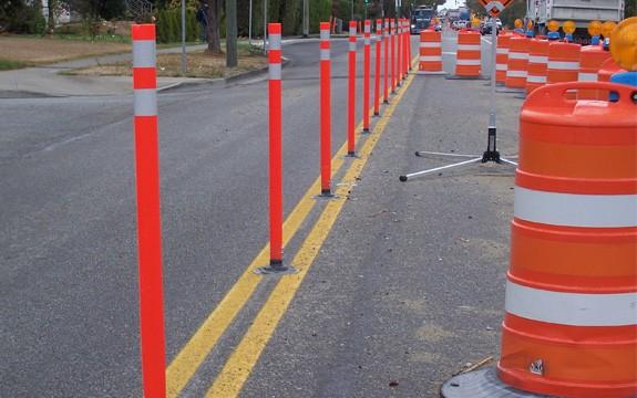 Flexible Traffic Delineators