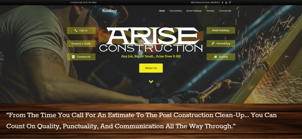 AriseConstruction