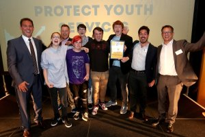 Congratulations to our Star of the Year winners Protect Youth Services. Photograph by Sam Stephenson for The Argus
