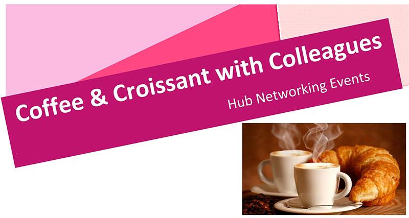 Coffee & croissant networking Brighton