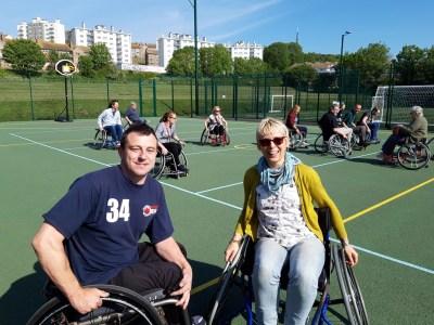 Wheelchair Basketball East Brighton Community Development