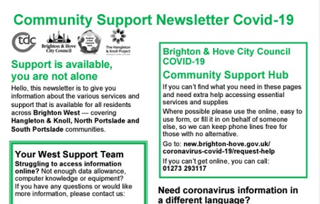 Community Covid-19 newsletter
