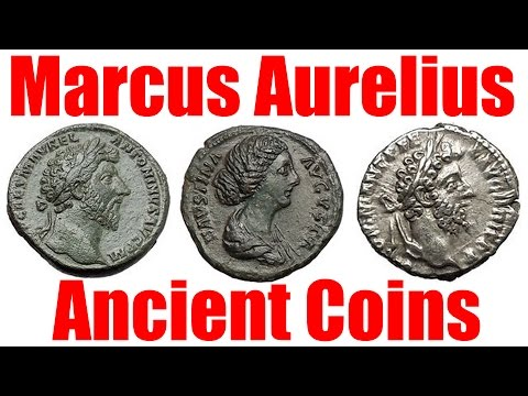 VIDEO Guide to Marcus Aurelius Ancient Roman Coins