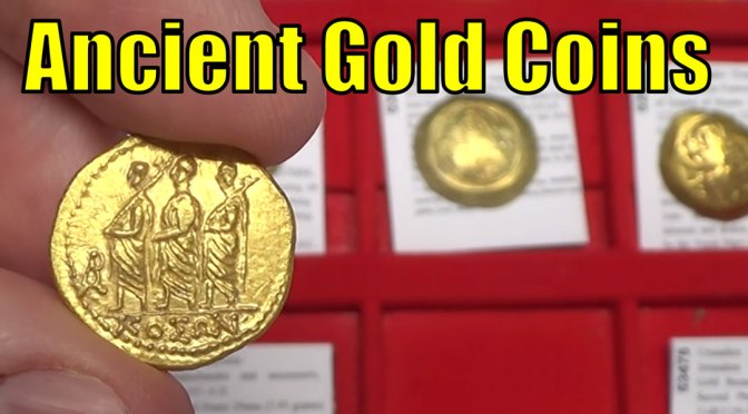 GOLD Ancient Greeek Roman Byzantine & World Coins Guide