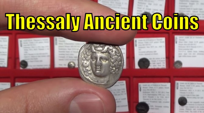 Thessaly Ancient Greek Coin Collection