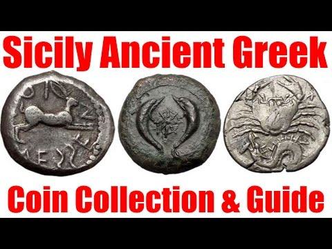 Guide to Ancient Greek Coins of Sicily Examples on VIDEO