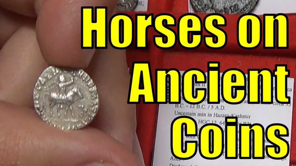 HORSES on Authentic Ancient Greek and Roman Coins Guide Collection
