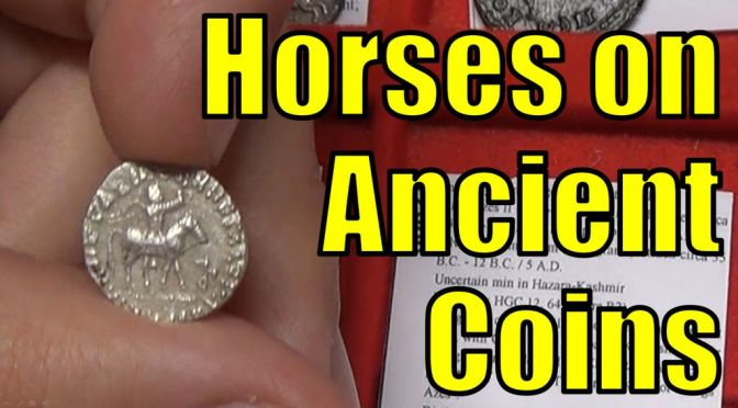 HORSES on Ancient Greek & Roman COINS including Races, Chariots & Pegasus