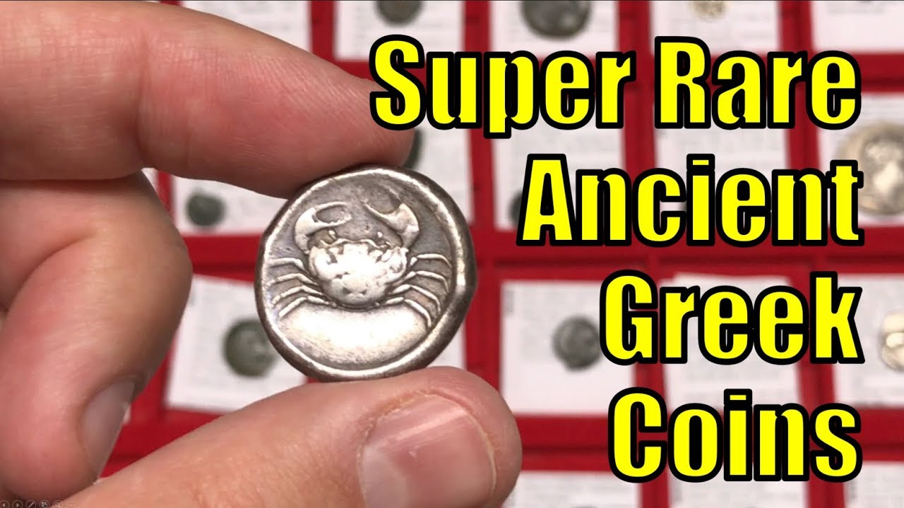 Guide to RAREST Authentic Ancient Greek Coins from circa 500-100 B.C.