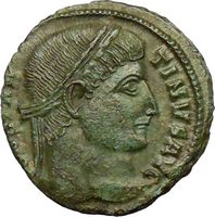 Constantine I the Great Certified Authentic Ancient Roman Coins of First Christian Emperor