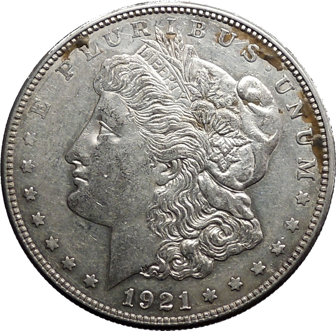 D Morgan Silver Dollar United States Of America Large