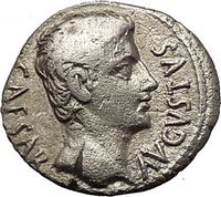 Augustus Silver Bronze Gold Authentic Ancient Roman Coins for Sale from Trusted Coin Dealer