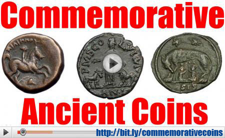 Commemorative Ancient Greek and Roman Coins