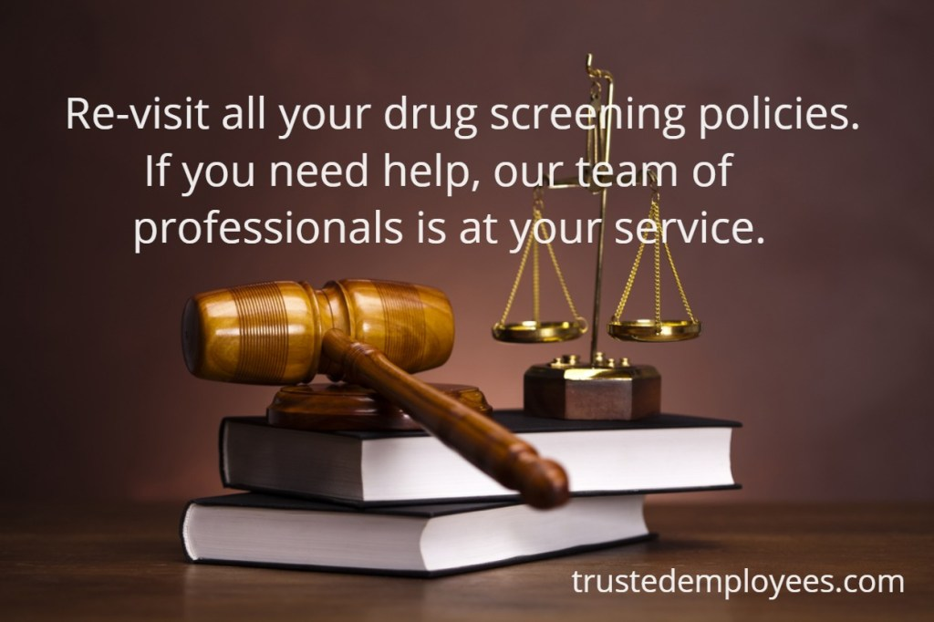Key Take Away's of Pre-Employment Prescription Drug Testing