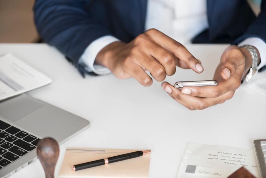 A hiring professional follows a standard process when running a social media check on job applicants