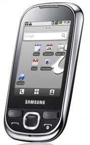 Samsung Galaxy Europa front angle