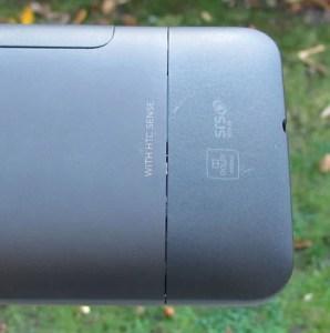 HTC Desire HD backplate