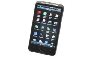 HTC Desire HD menu