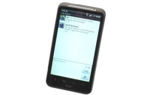 HTC Desire HD UI