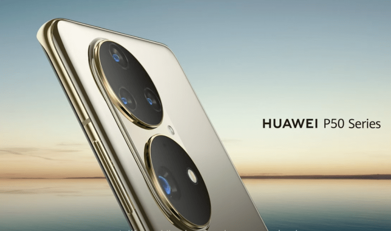 huawei p50 series image showing the back