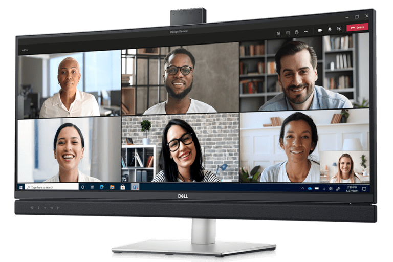 Dell Conference Monitor e1610551209622 All of the major Dell and Alienware announcements at CES