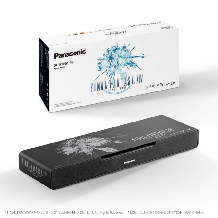 Final Fantasy XIV to receive its very own soundbar with the Panasonic Soundslayer
