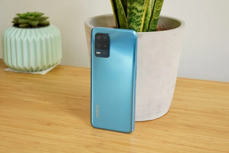 Realme 8 5G rear of the phone