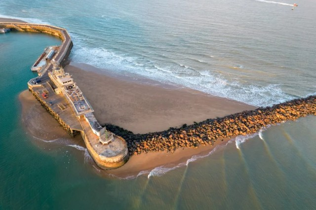 DJI Air 2S showing the sea