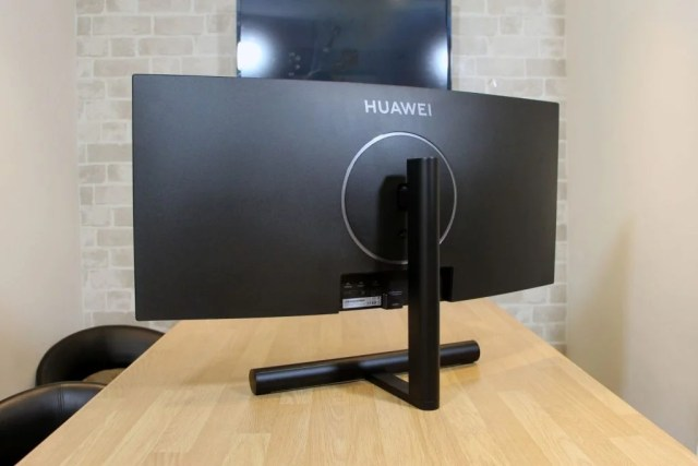 Rear of the Huawei MateView GT monitor