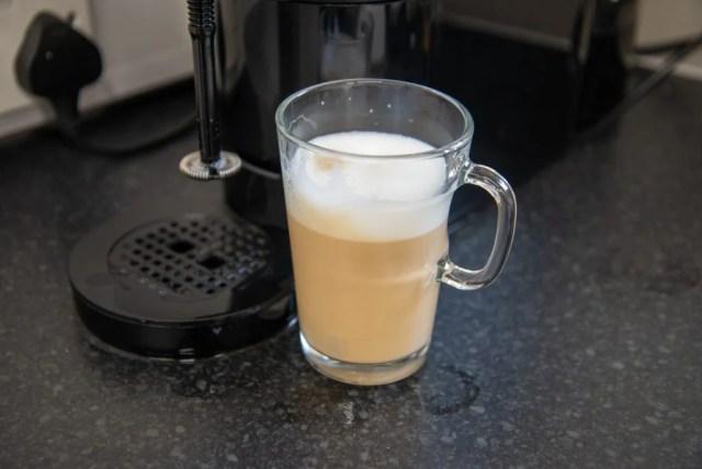 Nespresso Atelier cappuccino
