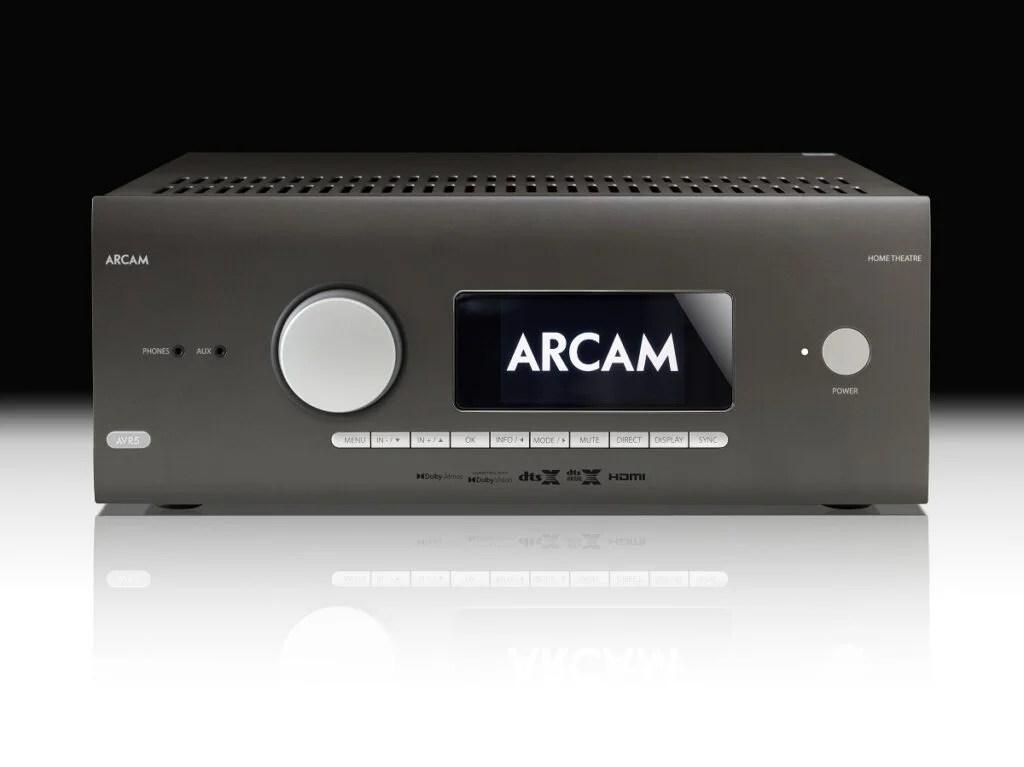 Arcam AVR5 front facing