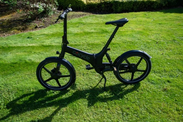 GoCycle G4 side view