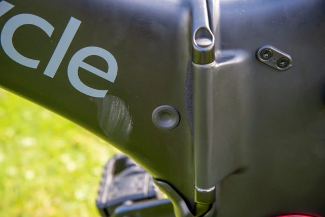 GoCycle G4 power button