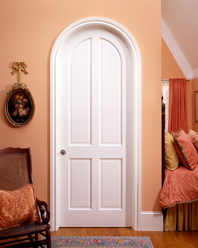 Two Panel Arched Interior Doors